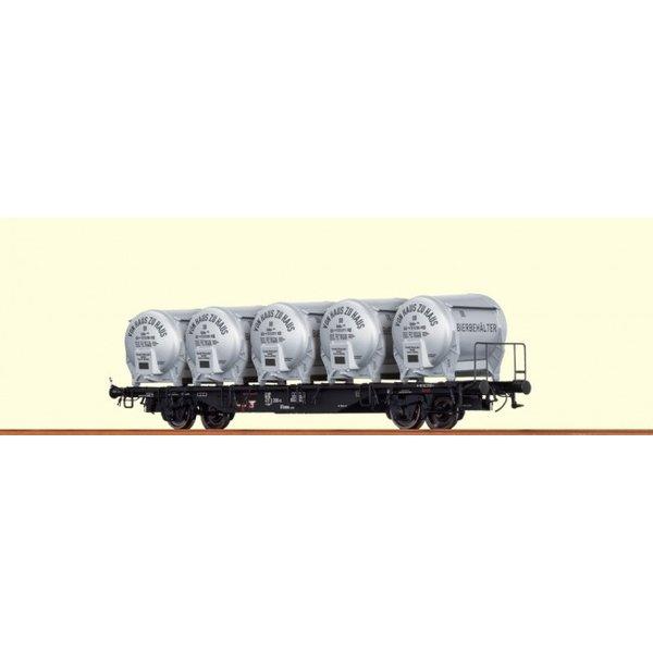 Brawa 49109 Behältertragwagen BTmms 58