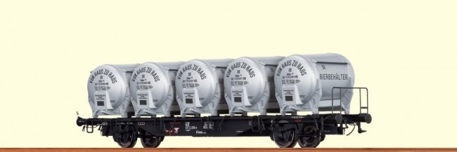 49109 Behältertragwagen BTmms 58-1