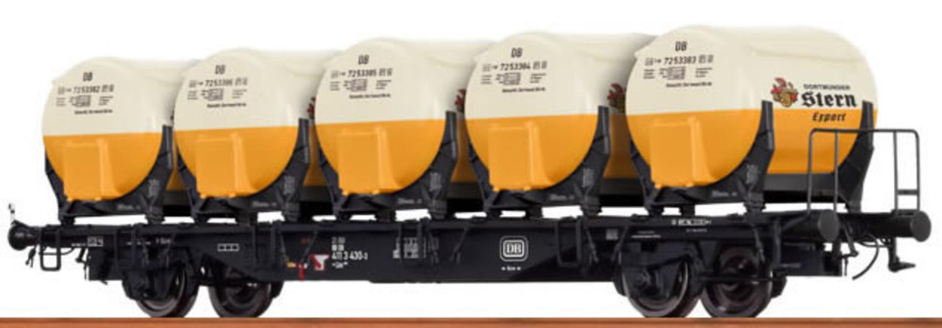 49111 Behältertragwagen BTmms 58