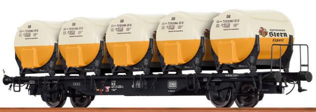 49111 Behältertragwagen BTmms 58-1