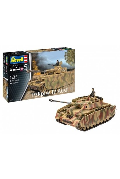 Revell 1:35 Panzer IV Ausf. H
