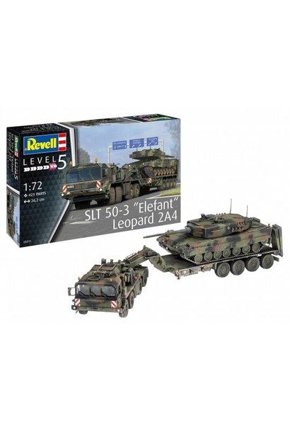 """Revell 1:72 SLT 50-3 """"Elefant"""" + Leopard 2A4"""