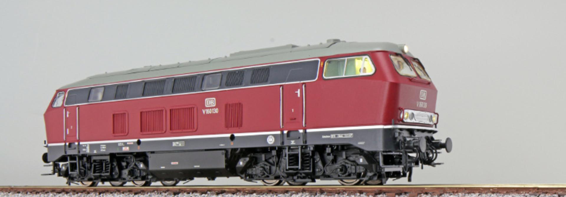 31000 Diesellocomotief V160 DB, AC/DC Sound+Rook