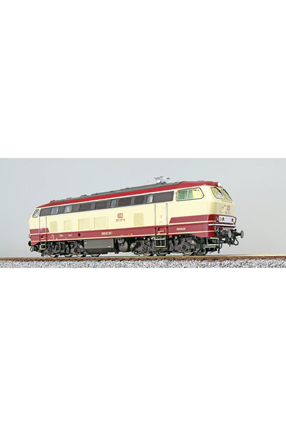 31015 Diesellocomotief BR 218 DB, TEE kleuren, AC/DC Sound+Rook