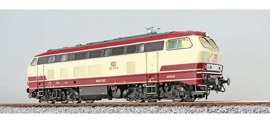 31015 Diesellocomotief BR 218 DB, TEE kleuren, AC/DC Sound+Rook-1