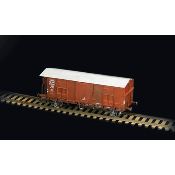Italeri 1:87 8703 FREIGHT CAR F with BRAKEMAN'S CAB