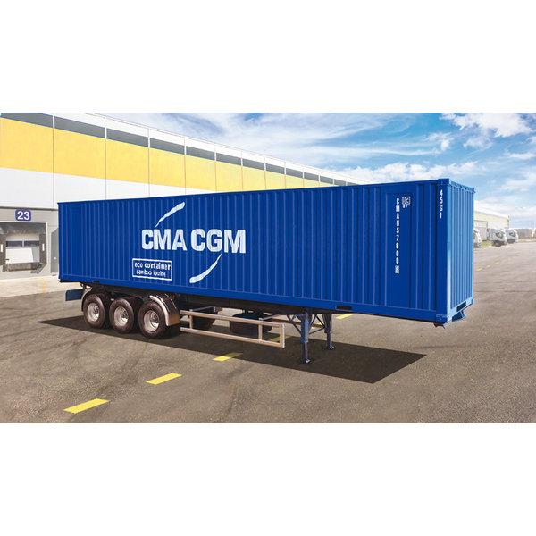 Italeri 1:24 40' Container Trailer