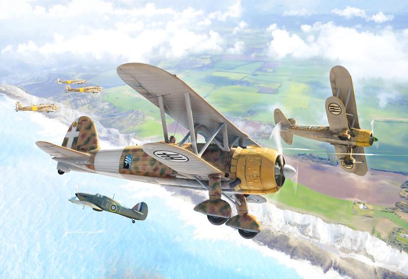 1:72 FIAT CR.42 Falco-1