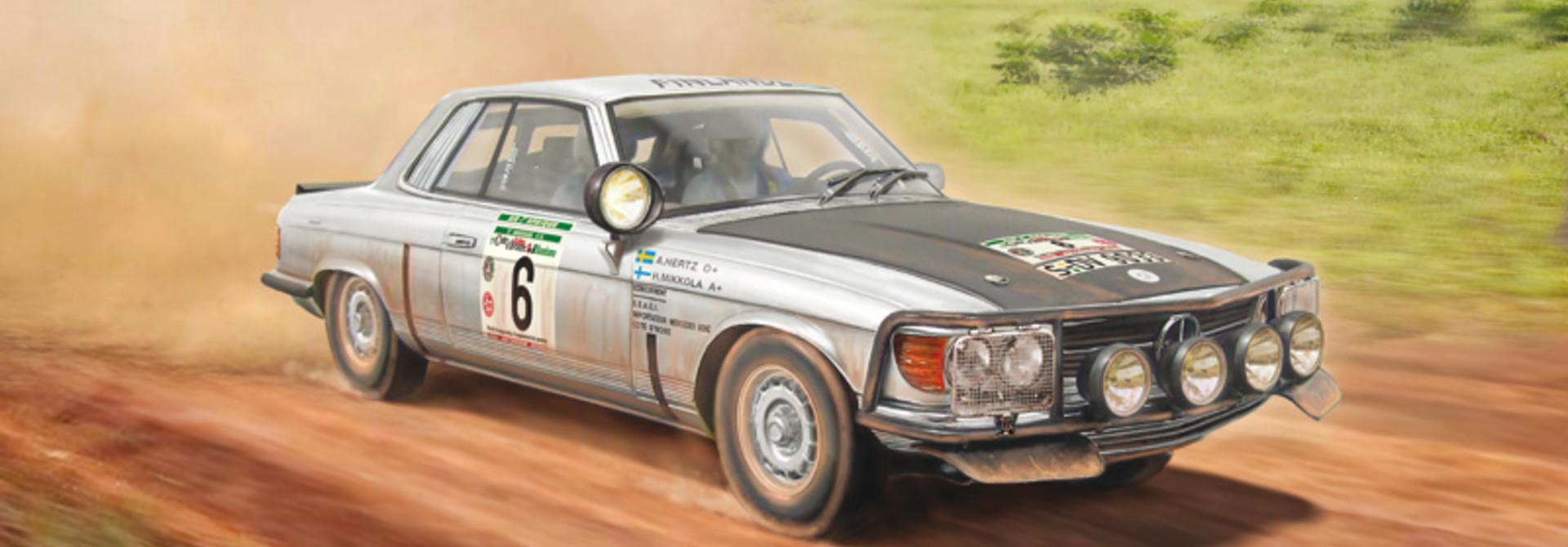 1:24 Mercedes-Benz 450SLC Rallye Bandama 1979