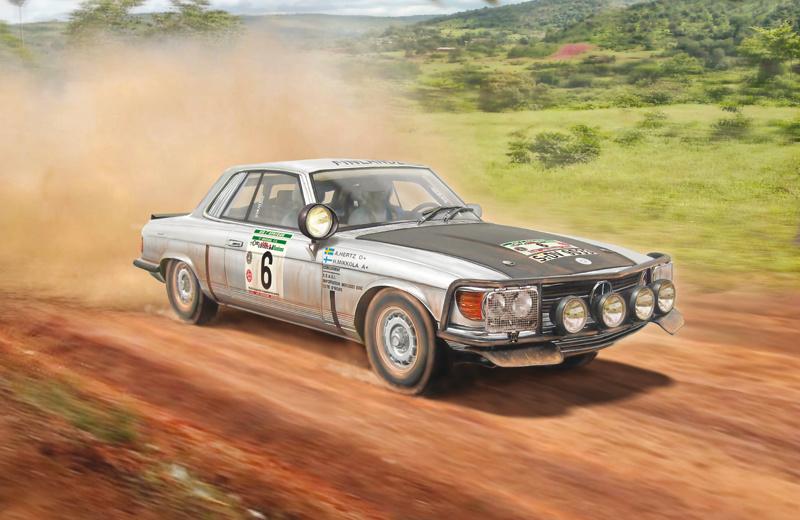 1:24 Mercedes-Benz 450SLC Rallye Bandama 1979-1