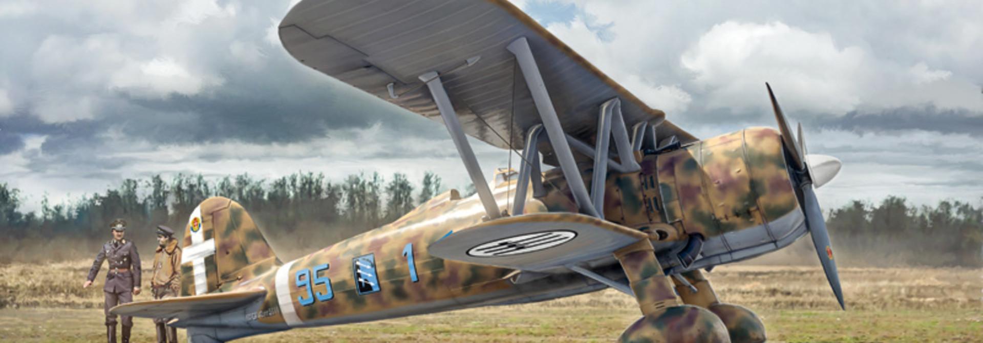 1:48 FIAT CR.42 Falco