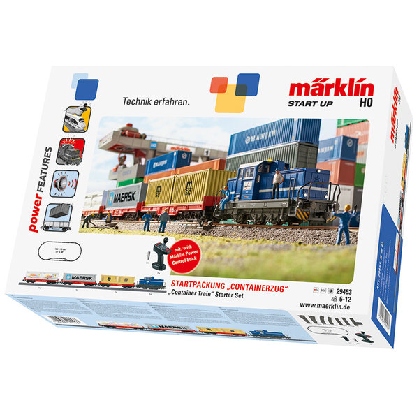"Märklin 29453 startset ""containertrein"""