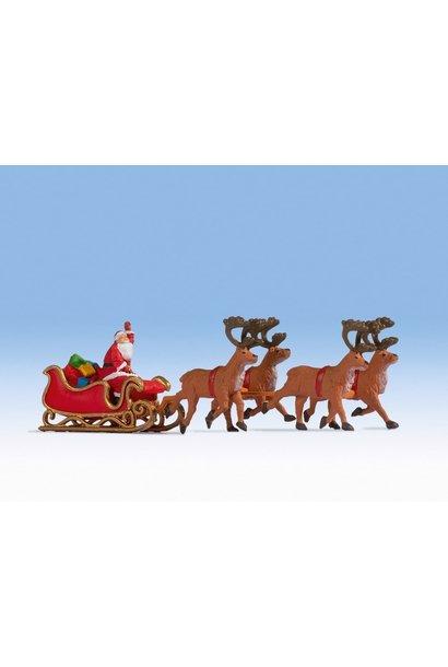 15924 Kerstman met arrenslee