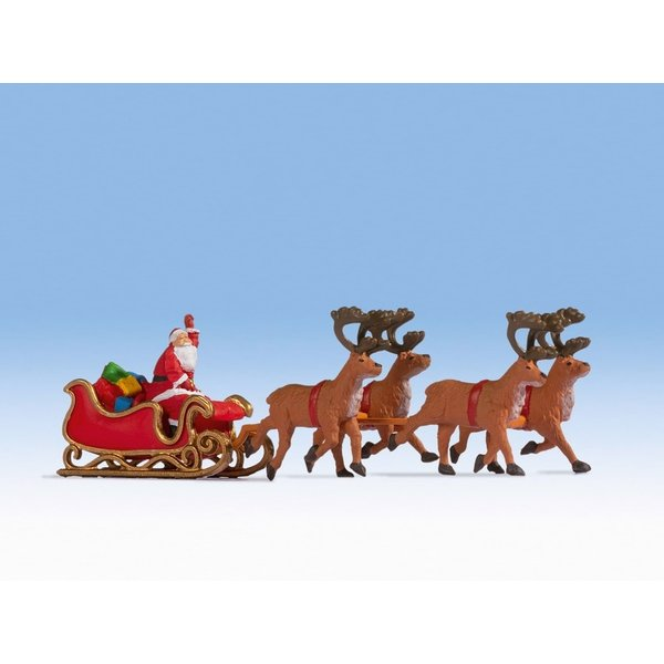 NOCH 15924 Santa Claus with Sleigh