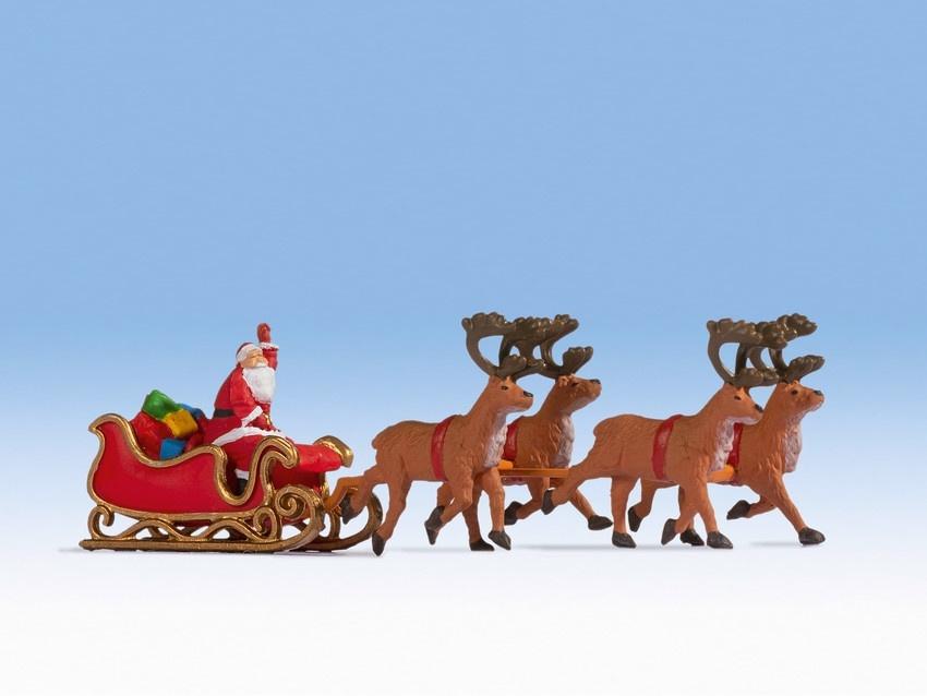 15924 Kerstman met arrenslee-1