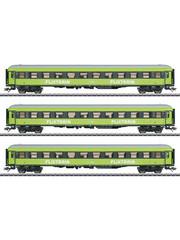 Märklin 42955 sneltreinwagenset ''Flixtrain'' driedelig