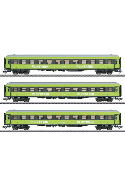 42955 sneltreinwagenset ''Flixtrain'' driedelig
