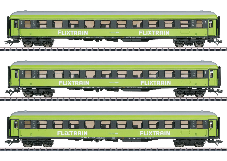 42955 sneltreinwagenset ''Flixtrain'' driedelig-1