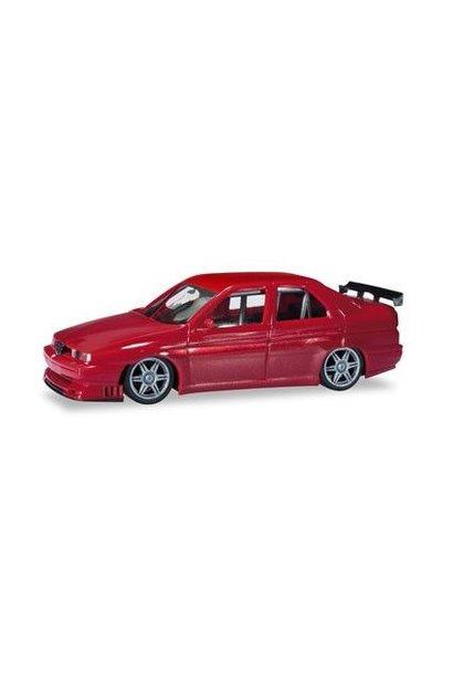Alfa Romeo 155 Rally, rood metallic