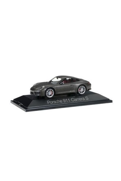 Porsche 911 Carrera S, grijs metallic (991 II)