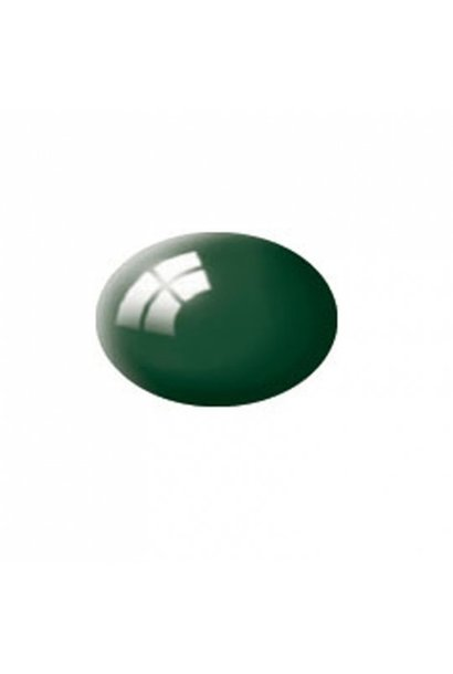 Aqua moosgrün, glänzend