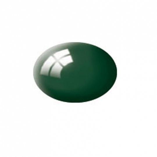 Aqua moosgrün, glänzend-1