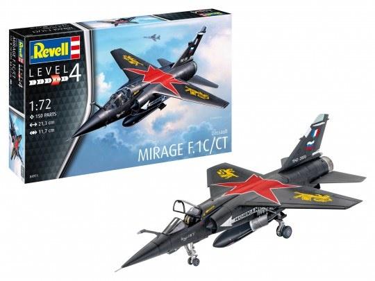 1:72 Dassault Mirage F-1 C / CT-1