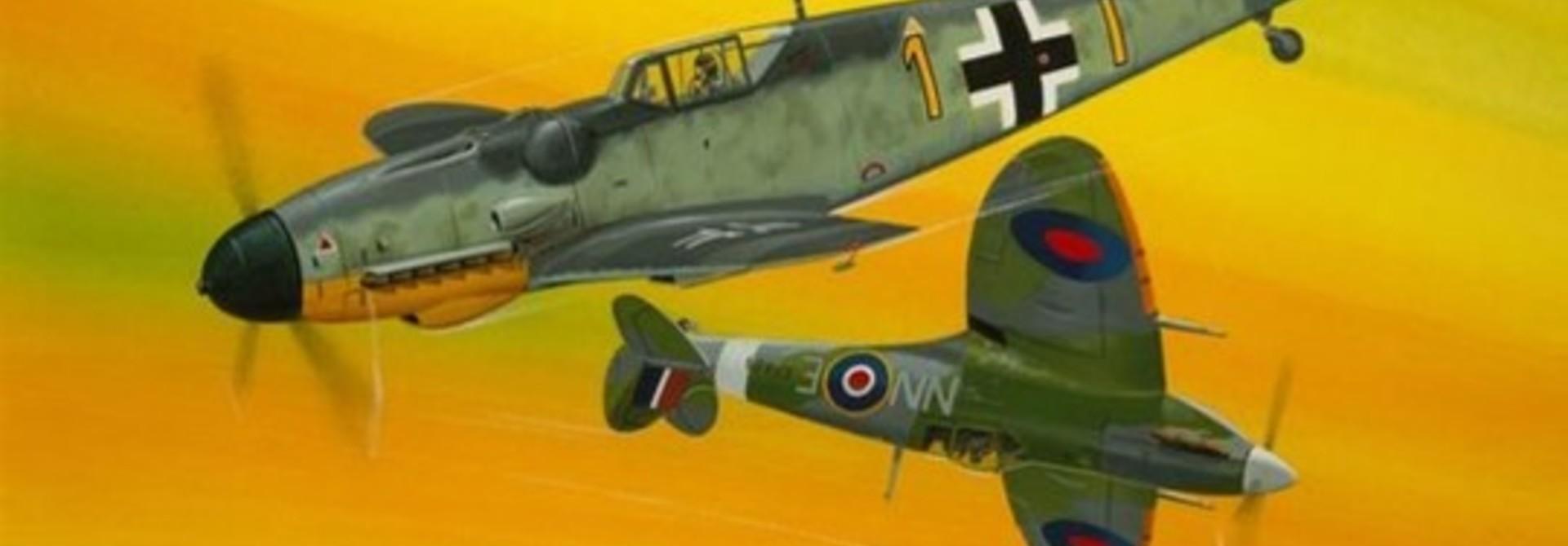 1:72 Combat Set Bf109G-10 & Spitfire