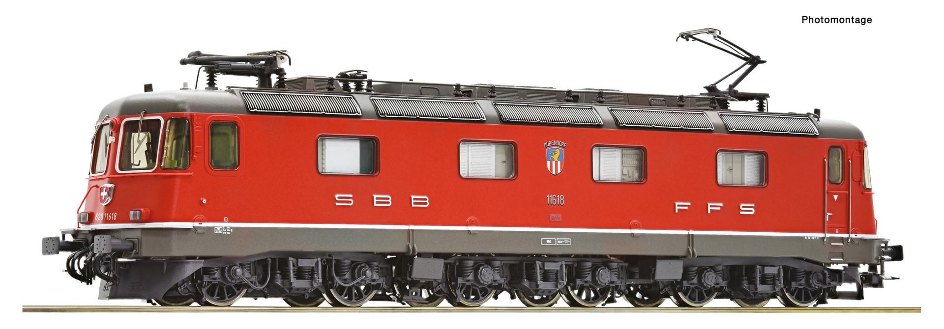 72603 elektrische locomotief Re 620 van de SBB DCC sound