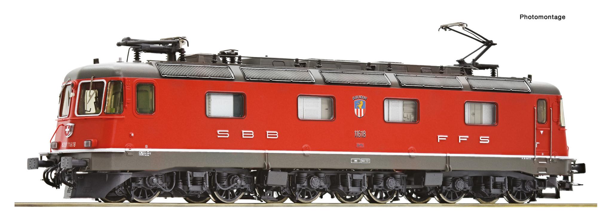 72603 elektrische locomotief Re 620 van de SBB DCC sound-1