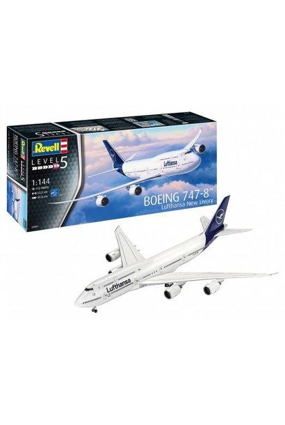 """1:144 Boeing 747-8 Lufthansa""""New Liver"""