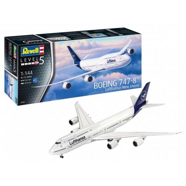 """Revell 1:144 Boeing 747-8 Lufthansa""""New Liver"""