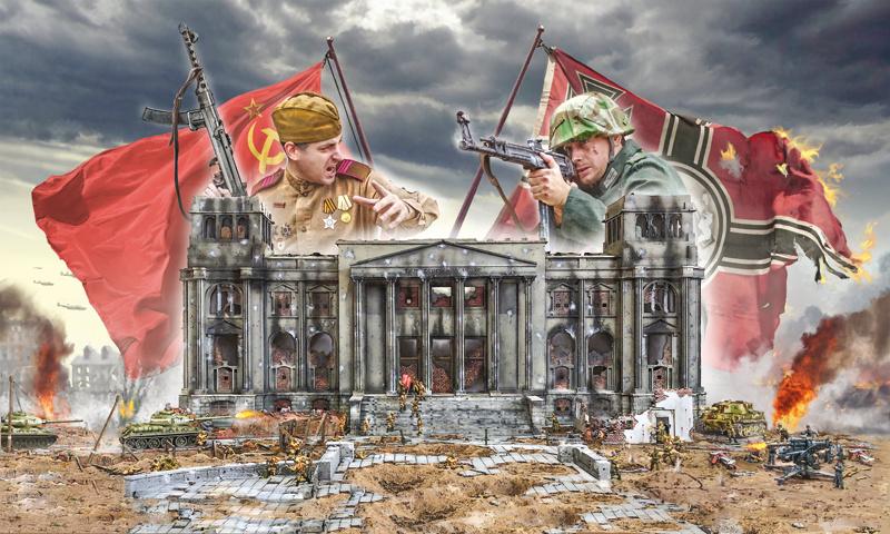 1:72 Battle for the Reichstag 1945 - BATTLE SET-1