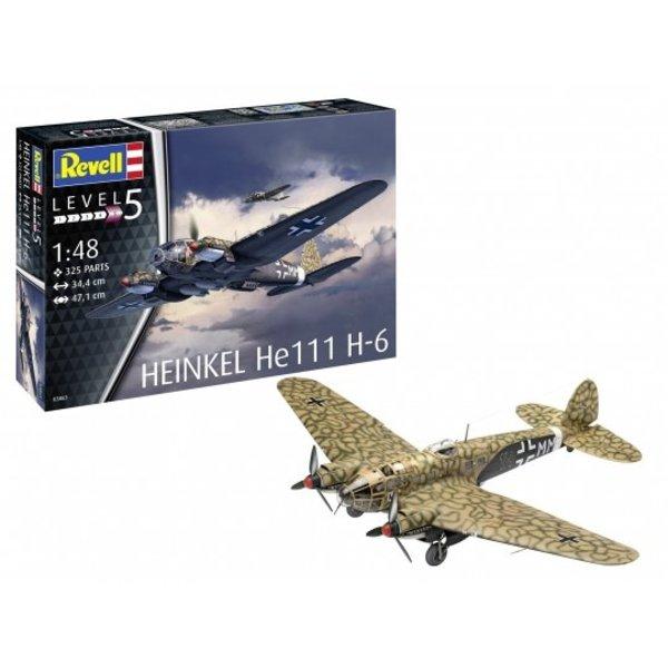 Revell 1:48 Heinkel He111 H-6