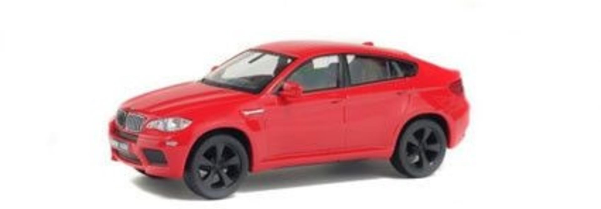 1:43 BMW X6 M, rood