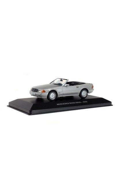 1:43 Mercedes Benz 500SL, zilver