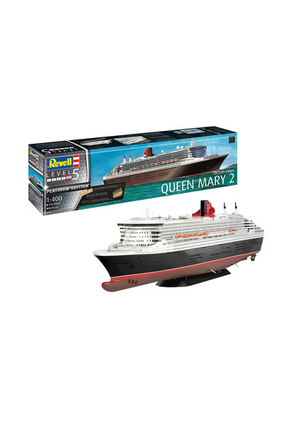 1:400 Queen Mary 2