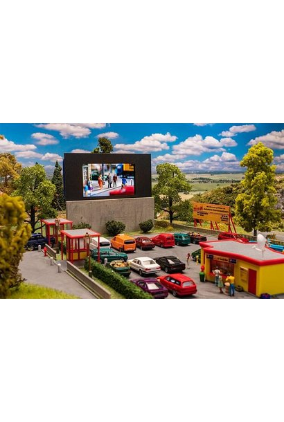 130880  H0 Drive in bioscoop