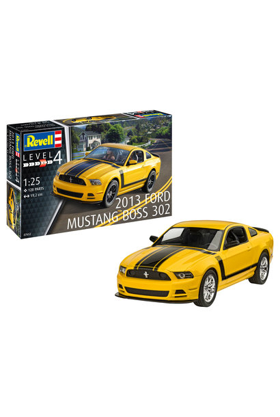 1:25 2013 Ford Mustang Boss 302