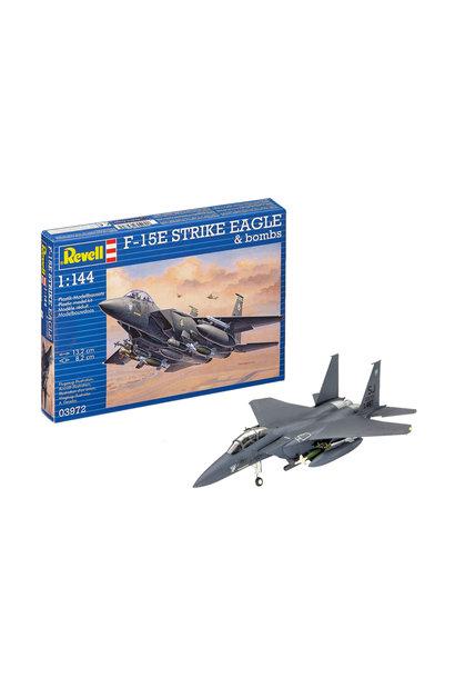 1:144 F-15E STRIKE EAGLE & bombs