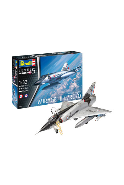 1:32 Dassault Mirage III E