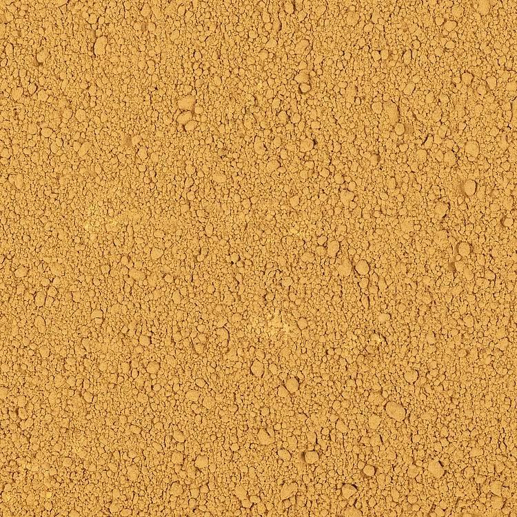 170820 Strooimateriaal, Poeder, kleiondergrond, okergeel, 240 g-1