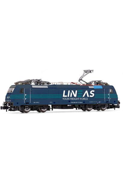 HN2498D elektrische locomotief BR186 Traxx LINEAS digitaal