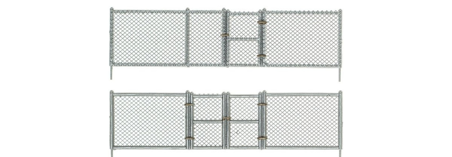 1:87 chain link fence