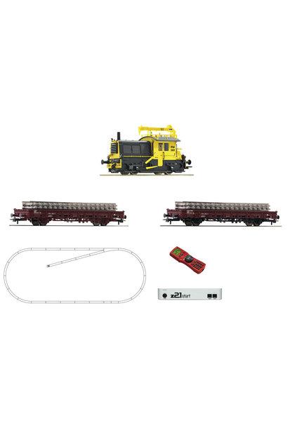 51333 z21 Set Diesellok Sik + Bauzug
