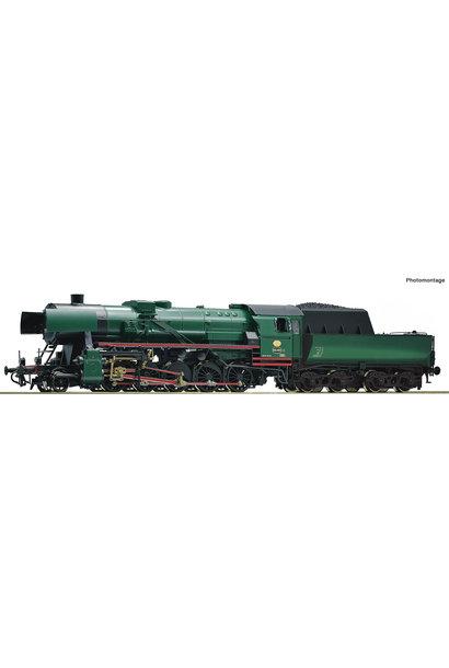 70272 stoomlocomotief Serie 26 van de Belgische Spoorwegen DCC sound