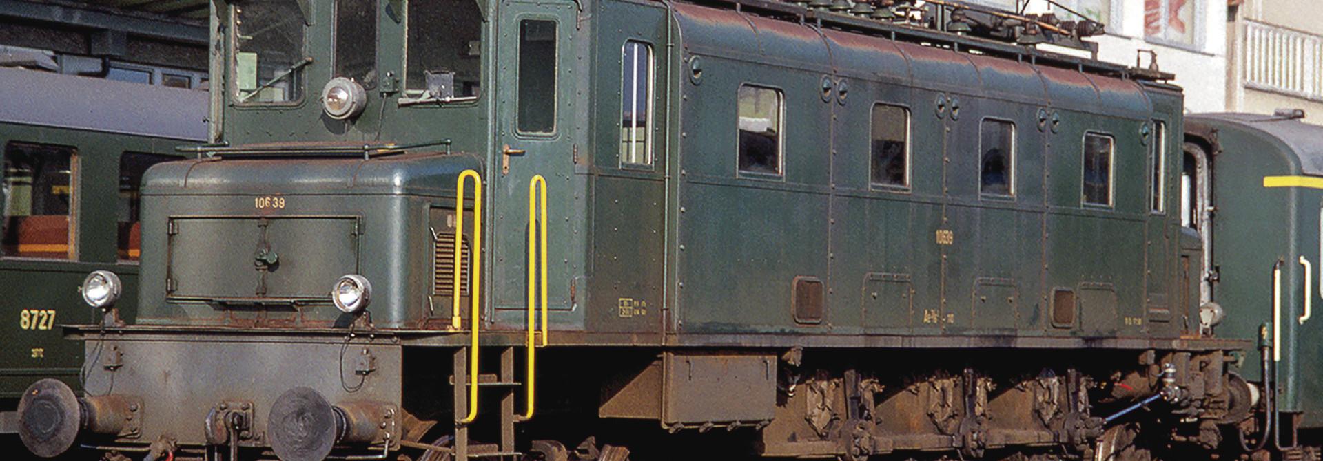 70087 E-Lok Ae 3/6I SBB grün