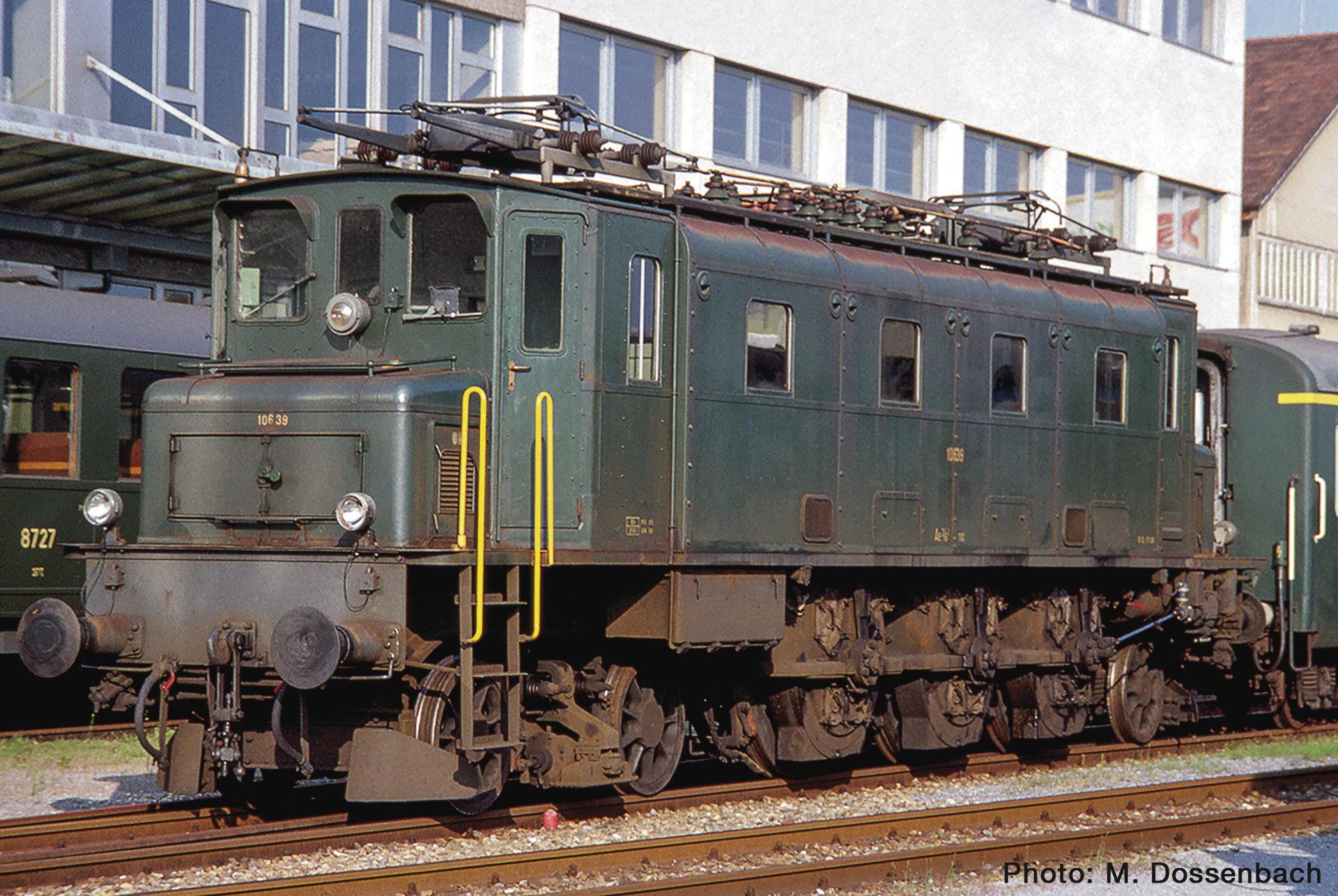 70087 E-Lok Ae 3/6I SBB grün-1