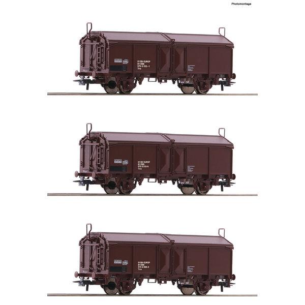 Roco 66178 3er Set Schiebd. Wag. ÖBB