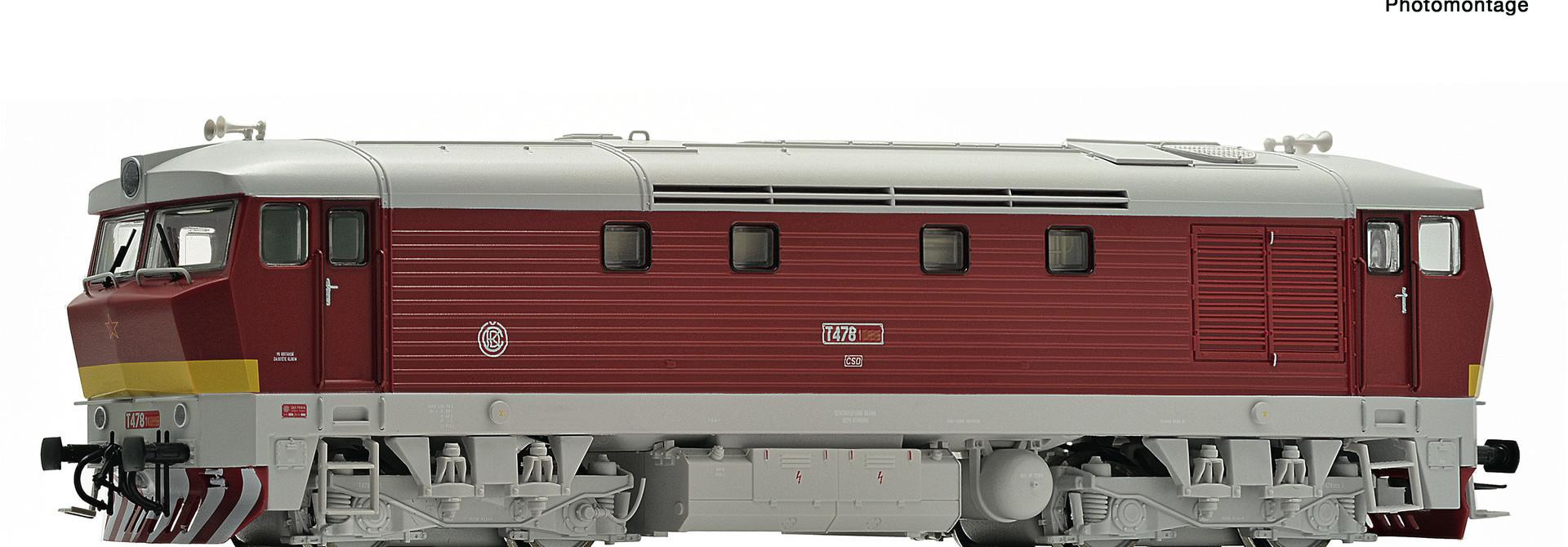 70921 Diesellok T478.1 CSD Snd.